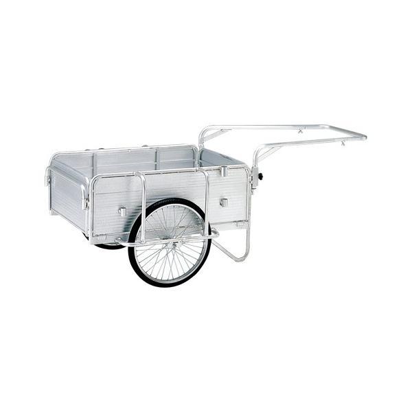 【まとめ買い10個セット品】 折りたたみ式リヤカー ハンディキャンパー    PHC−130