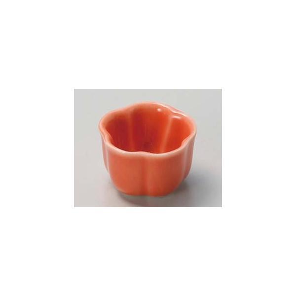 【まとめ買い10個セット品】和食器 ミ080-397 オレンジ梅型特小珍味【キャンセル/返品不可】
