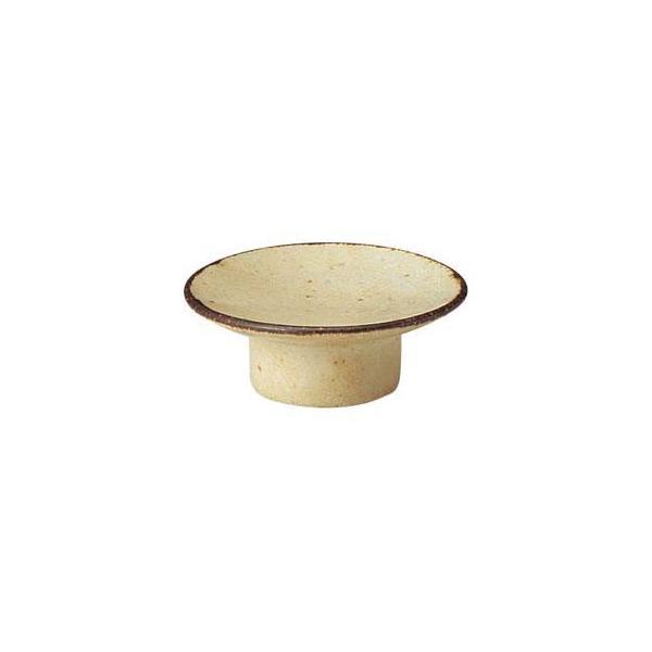 【まとめ買い10個セット品】イ540-047 くつろぎ 粉引 8cmマカロン皿【キャンセル/返品不可】