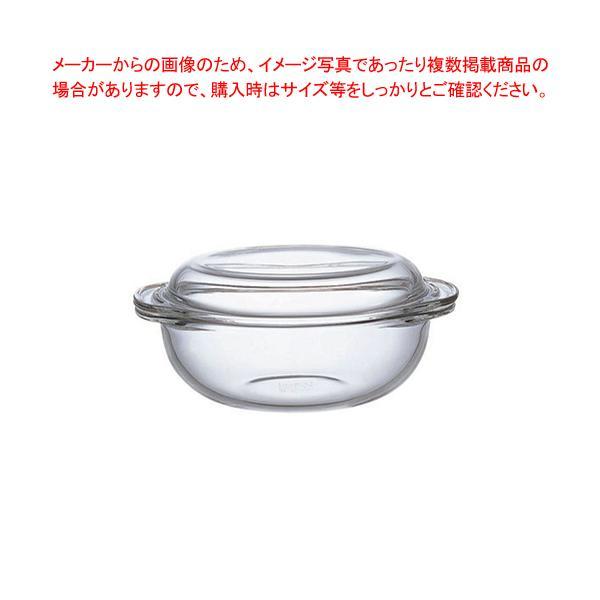 iwaki ベーシック キャセロール 1.5L KBT683(蓋付)