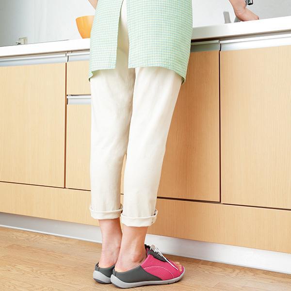 ダイエットサンダル オフィス 健康 レディース 室内 外反母趾 骨盤 アーチケア 美脚 姿勢矯正 猫背 4E 幅広 ワイド 勝野式 Dr.ドクターアーチスニーカー|meidai-y|21