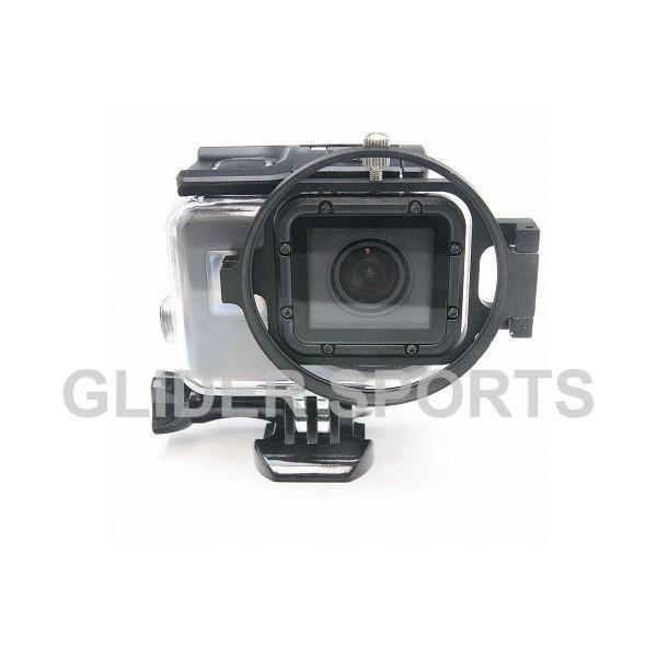 GoPro HERO7Black/HERO6/HERO5 アクセサリー フィルターシャックル58mm