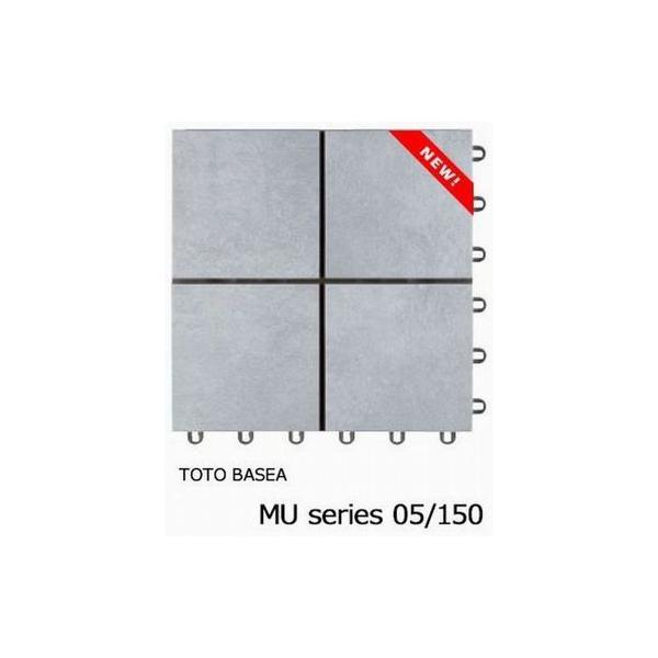 タイルデッキシステム材 TOTOバーセア MUシリーズ150 ベイクグレー 送料無料 ベランダタイル AP15MU05UFJ 新色