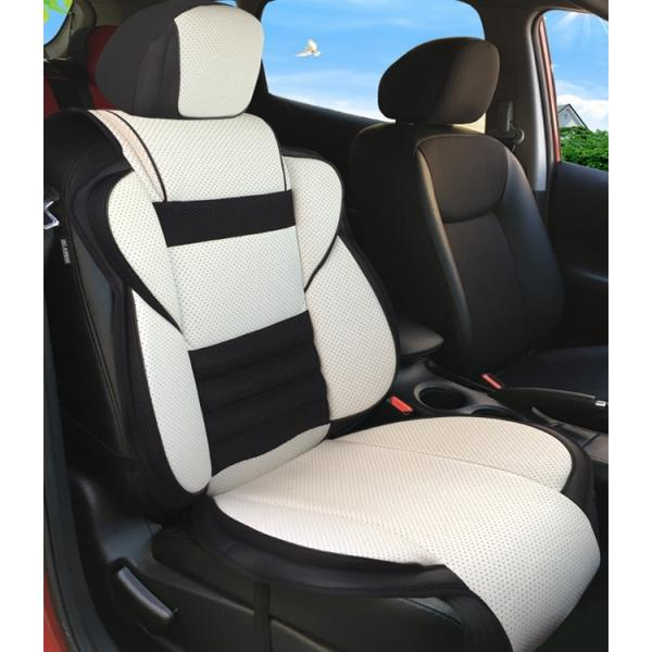 MEIKO レザー 皮革 汎用 車 カー シートカバー トヨタ アルファード プリウス ヴェルファイア ランドクルーザープラド エプロンタイプ 前席 運転席 助手席|meikostore|13