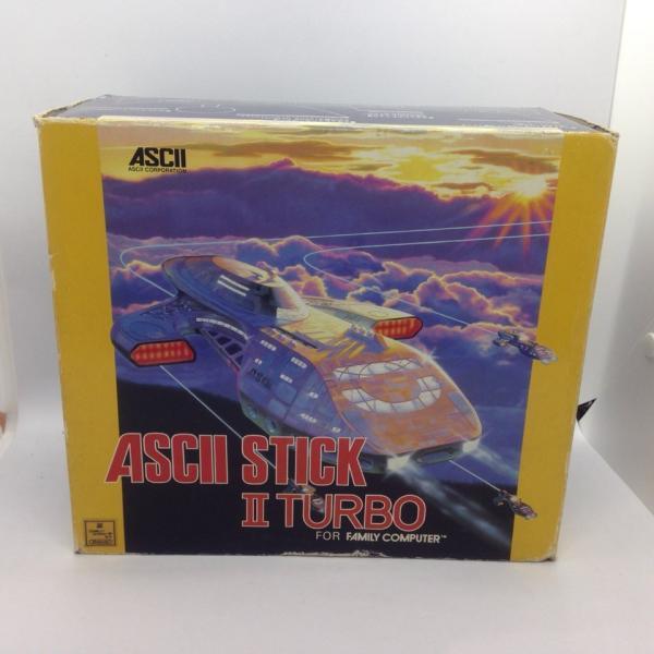 アスキー(ASCII) ファミコン周辺機器 アスキースティック2 TURBO (AS-3399-FC)の画像