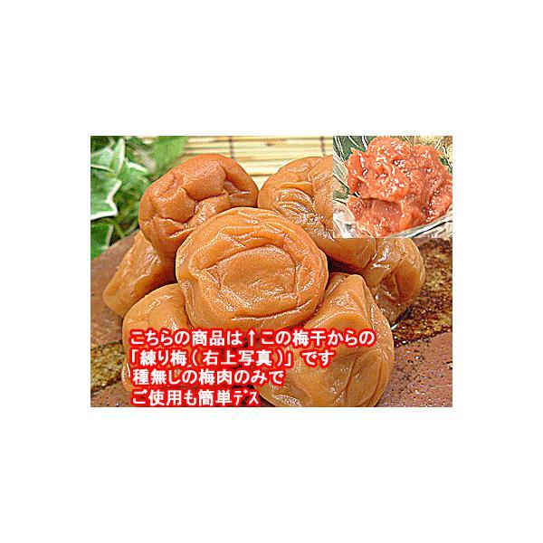 数量限定品 梅干し 訳あり品をねり梅に メール便   練り梅(梅肉) 1kg 入 福井県産 梅干 訳あり品使用 昔ながらの梅干し 塩漬けでしょっぱい  梅 ペースト