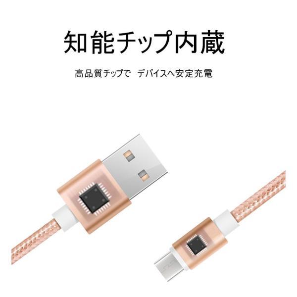 micro USBケーブル マイクロUSB Android用 0.25/0.5/1/1.5m 急速充電ケーブル  モバイルバッテリー ケーブル スマホ充電器 Xperia Galaxy AQUOS 多機種対応 meiseishop 18