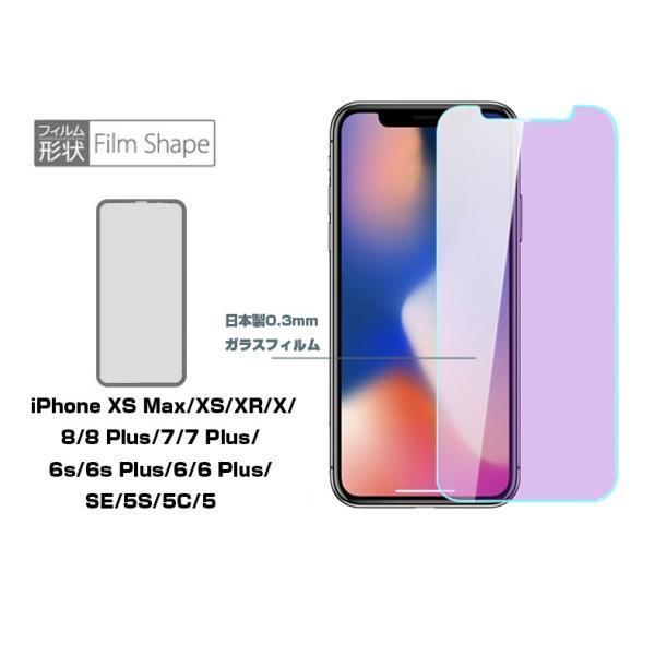 iPhone XS Max iPhone XS iPhone XR 強化ガラス保護フィルム ブルーライトカット iPhone X/8/8plus/7/7plus/6s/6s plus 液晶保護フィルム 全機種対応 iPhone用|meiseishop|07