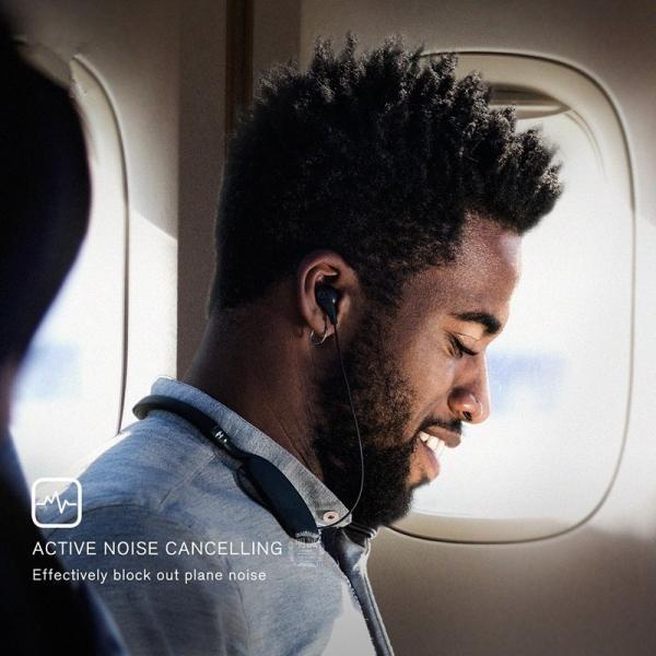 ワイヤレス ノイズキャンセリング イヤホン 高音質 Bluetooth ブルートゥース イヤホン ネックバンド式 マイク付き ハンズフリー通話 最大20時間連続再生 iPhone|meiseishop|10