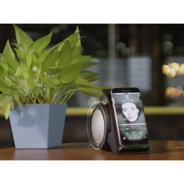 Qiワイヤレス充電スタンド Bluetooth 4.2 ポータブル充電式ステレオスピーカー ワイヤレス充電器 急速充電 15W ワイヤレス充電スピーカー 無接点充電 高品質|meiseishop|15