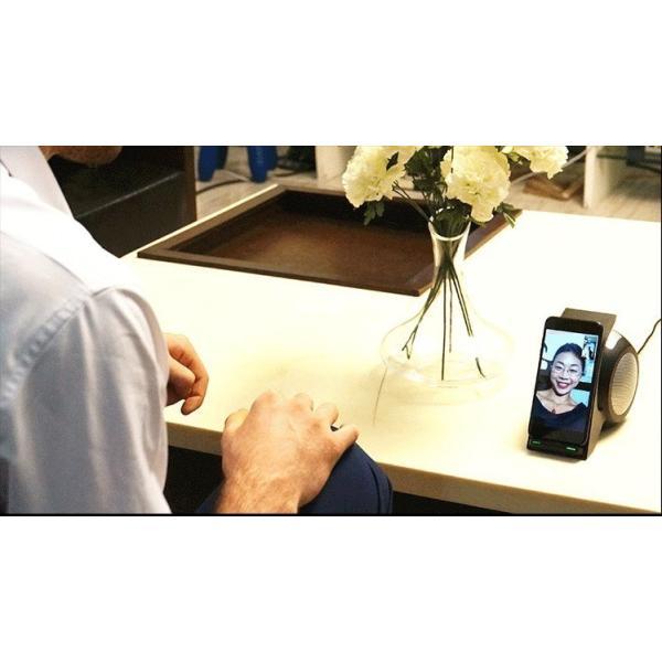 Qiワイヤレス充電スタンド Bluetooth 4.2 ポータブル充電式ステレオスピーカー ワイヤレス充電器 急速充電 15W ワイヤレス充電スピーカー 無接点充電 高品質|meiseishop|09