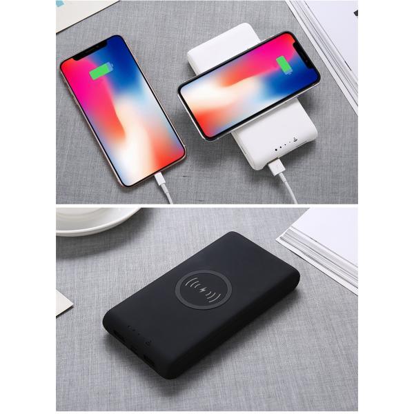 20100mAh iOS/Android対応 大容量モバイルバッテリー 軽量 薄型 スマホ iphoneX Xperia QIワイヤレス充電器 無線充電 3台同時充電 USB2ポート急速充電【PL保険】|meiseishop|10