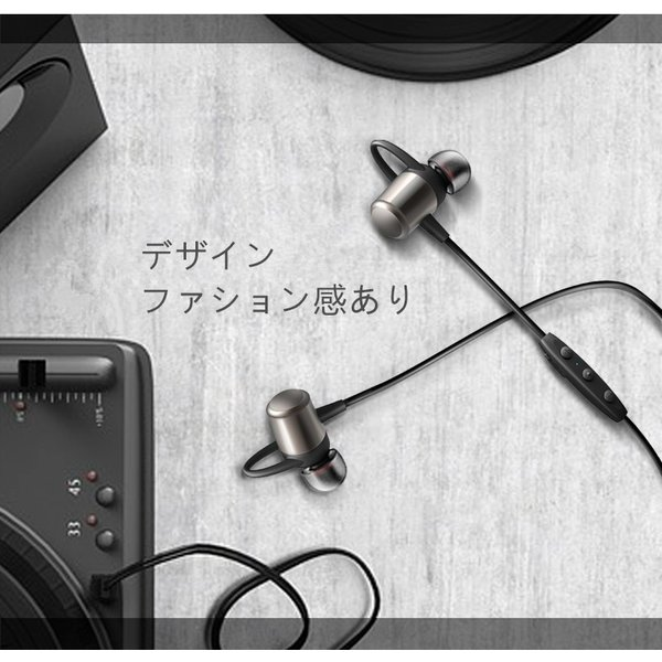 Bluetooth 4.2 ワイヤレスイヤホン 高音質 軽量 ブルートゥースイヤホン 防塵防水 重低音 スポーツ ヘッドホンイヤホン マイク付き ジョギング用 iPhone Android|meiseishop|11