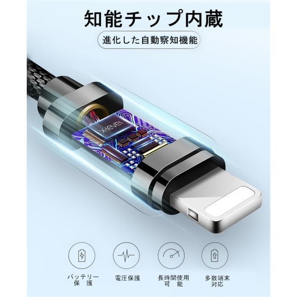 超小型 ストラップ式 充電ケーブル iPhoneケーブル Type-Cケーブル Micro USBケーブル 急速充電 データ転送ケーブル 合金ケーブル iPhone用 Android用 長さ0.18m|meiseishop|13