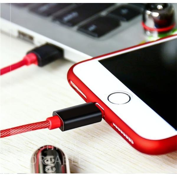 超小型 ストラップ式 充電ケーブル iPhoneケーブル Type-Cケーブル Micro USBケーブル 急速充電 データ転送ケーブル 合金ケーブル iPhone用 Android用 長さ0.18m|meiseishop|21