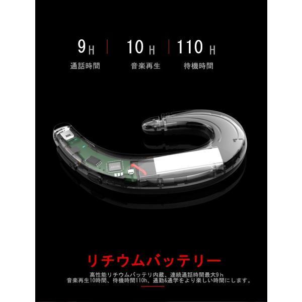 ブルートゥースイヤホン ワイヤレスイヤホン Bluetooth 4.1 ヘッドセット 片耳 高音質 耳掛け型 日本語音声通知 スポーツ マイク内蔵通話可 iPhone&Android対応 meiseishop 11