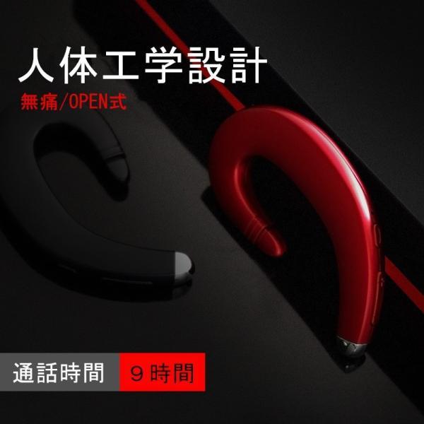 ブルートゥースイヤホン ワイヤレスイヤホン Bluetooth 4.1 ヘッドセット 片耳 高音質 耳掛け型 日本語音声通知 スポーツ マイク内蔵通話可 iPhone&Android対応 meiseishop 04