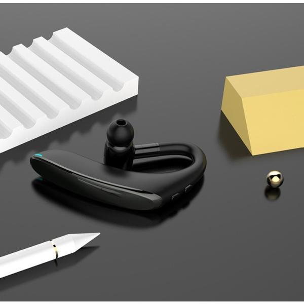 ブルートゥースイヤホン5.0 左右耳通用 ワイヤレスイヤホン Bluetooth 5.0耳掛け型最高音質 日本語音声 180度回転 超長待機 ヘッドセット 片耳|meiseishop|19