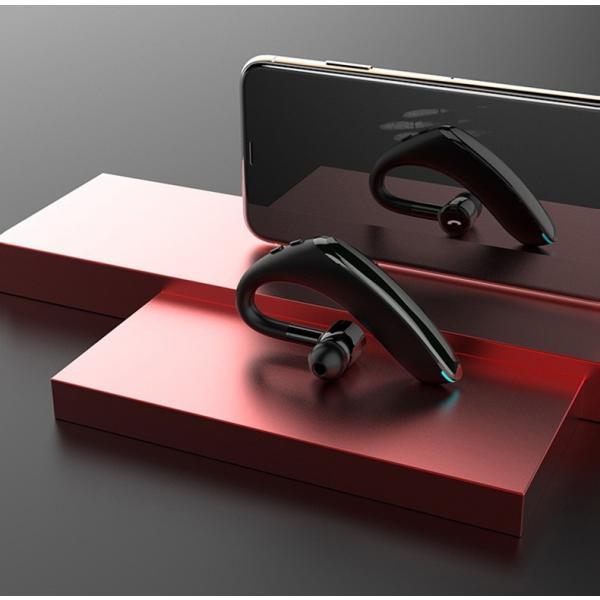 ブルートゥースイヤホン5.0 左右耳通用 ワイヤレスイヤホン Bluetooth 5.0耳掛け型最高音質 日本語音声 180度回転 超長待機 ヘッドセット 片耳|meiseishop|20