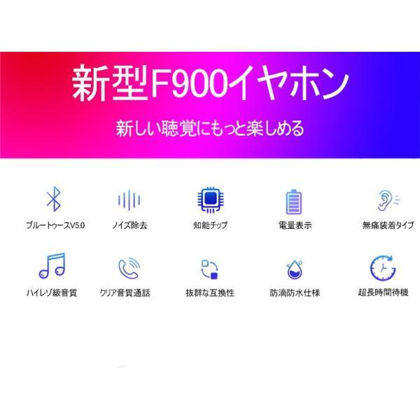 ブルートゥースイヤホン5.0 左右耳通用 ワイヤレスイヤホン Bluetooth 5.0耳掛け型最高音質 日本語音声 180度回転 超長待機 ヘッドセット 片耳|meiseishop|05