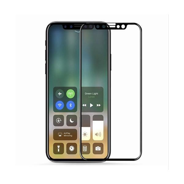 本日限定【iphone 11/XR対応 6.1インチ】【全面保護 ソフトフレーム ガラスフィルム 0.2MM 9H 3D 黒限定】iphone 11 iphoneXR フィルム シール meitsu-2