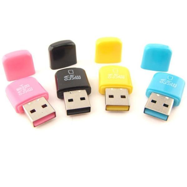 SALE~[蓋付 TYPE-C型]マイクロSDカード用 USB カードリーダー【microsdhc 2GB 4GB 8GB 16GB 32GB 64GB対応】お色指定不可|meitsu3