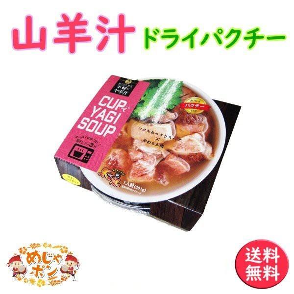 山羊汁 沖縄 汁物 CUPでYAGI SOUP ドライパクチー1個 南西産業