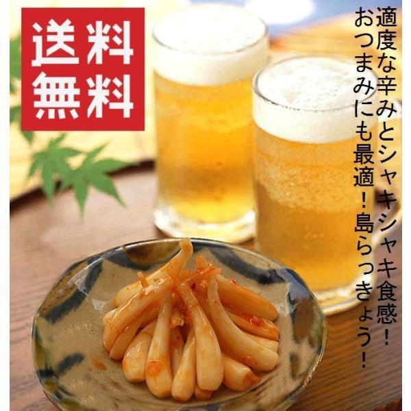 キムチ おつまみ 島らっきょう キムチ(30g)×20袋 沖縄県産うちなー自慢 お土産 おすすめ