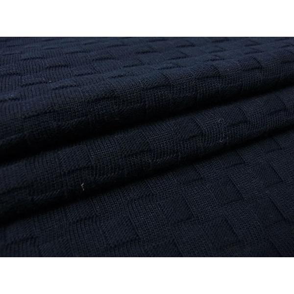【50%OFF】La cresta del DRAGONE ドラゴーネ ワッフル編み風 ポロシャツ 半袖 カッタウェイ ネイビー 紺 メンズ 紳士服 日本製|mejiroleacca|07