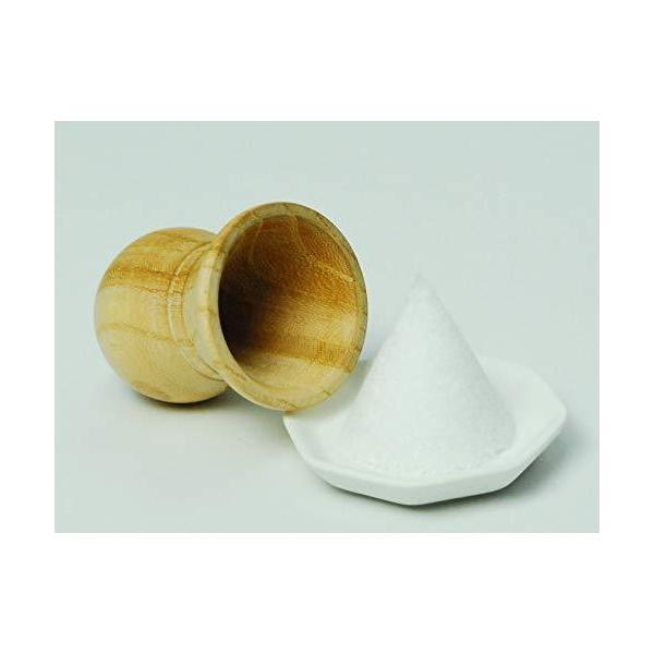 Moa Feteli(モアフェティ) 盛り塩用 盛り塩器 国産 けやき製 ■中サイズ ■外寸 5 Φ×高さ 6.6cm