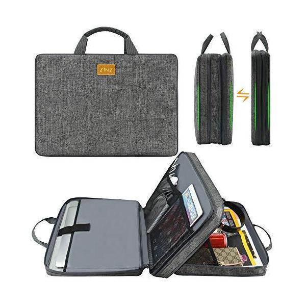 パソコンケース1515.616インチ薄型可変容量PCバッグ撥水加工ほとんどの15