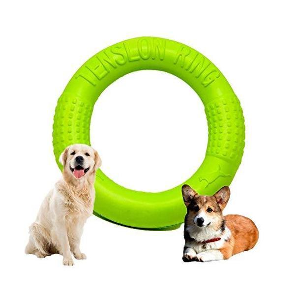 犬用噛おもちゃ 投げるおもちゃ 犬用おもちゃ 耐久性犬用おもちゃ 浮く 犬用投げる 噛むおもちゃ フィットネスリング ラウンドフリスビー ストレス解消