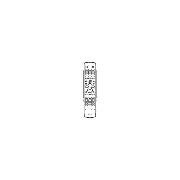 シャープ ブルーレイディスクレコーダー BD-HD22用 リモコン送信機 0046380203