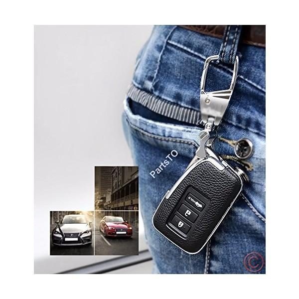 本革レザースマートキーケースカバー適合レクサスLexus ES250 IS250 GS350 GS450H車用 mekoda-store