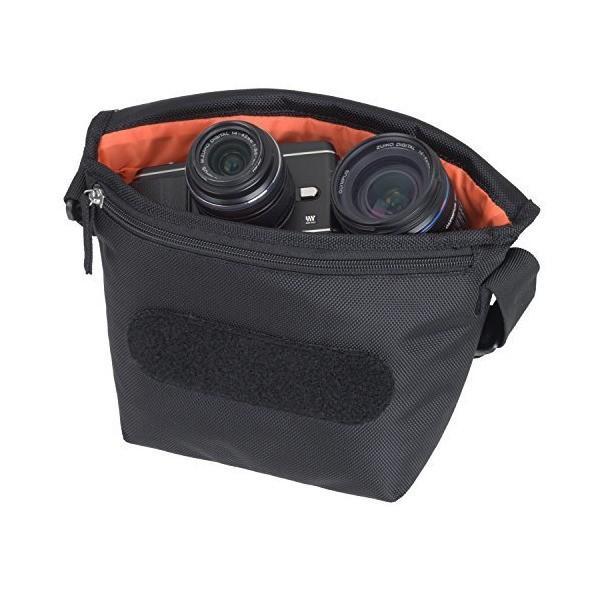 ETSUMI カメラバッグ ベリー 2.7L ジェットブラック E-3321