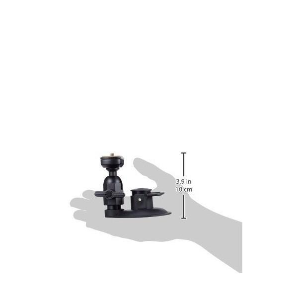 REC-MOUNTS(レックマウント) 曲面対応 カメラ用 サクションカップマウント(吸盤スタンド) 強力吸盤 自由雲台付ショートタイプK[REC-