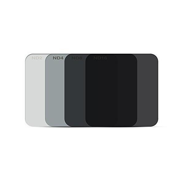 XCSOURCE GoPro Hero5 フィルター 裸カメラ専用 ND2ND4ND8ND16スイッチ式 四枚セット LF770