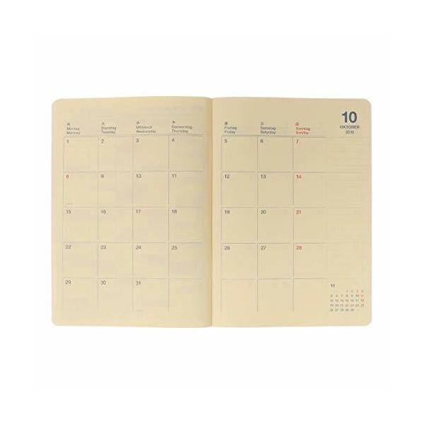 デルフォニックス ロルバーンノートダイアリーフルーツA5(2019年版:2018年10月はじまり) C(サクランボ)|mekoda-store|04