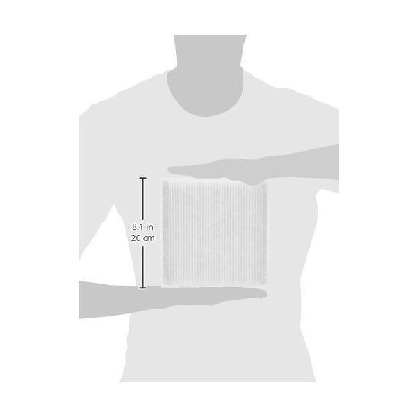 ツインバード 空気清浄機用フィルタ 抗菌プリーツフィルター AC-FT04