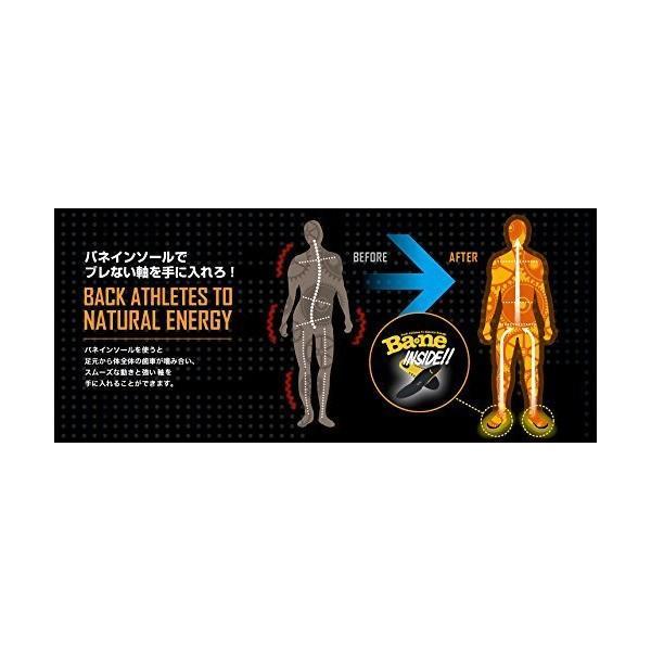 バネ インソール バランス機能UP 調節可能中敷き ベーシック 全5サイズ ブラック M(25~26.5cm) ウォーキング ハイキング 用 抗菌