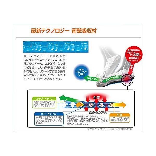 ソフソール(SOFSOLE) メンズ インソール エアープラス 取替タイプ Mサイズ(24~25.5cm) 17125