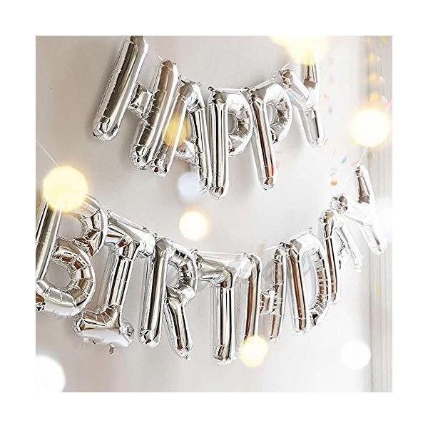 誕生日 飾り付け 風船、Happy Birthday バルーン、パーティー 装飾 風船、バースデー 飾り バルーン HB7S|mekoda-store|03