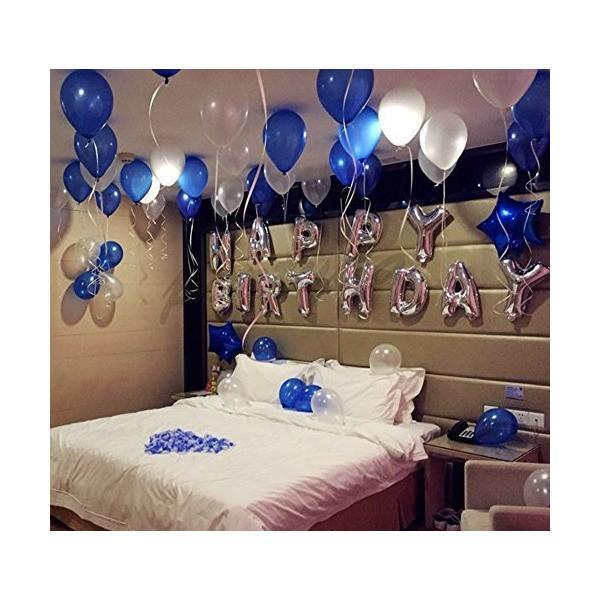 誕生日 飾り付け 風船、Happy Birthday バルーン、パーティー 装飾 風船、バースデー 飾り バルーン HB7S|mekoda-store|04