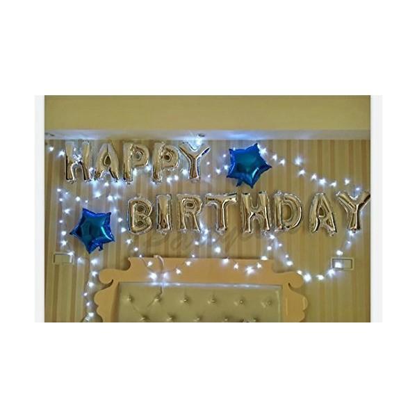 誕生日 飾り付け 風船、Happy Birthday バルーン、パーティー 装飾 風船、バースデー 飾り バルーン HB7S|mekoda-store|05