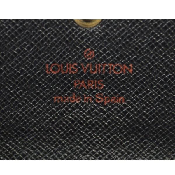 ルイヴィトン 6連キーケース ミュルティクレ6 エピ ノワール M63812 LOUIS VUITTON