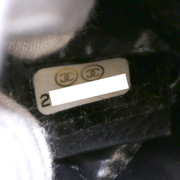 a217e485303c シャネル クラッチバッグ マトラッセ パンチング ブラック ポーチ A69251 ...