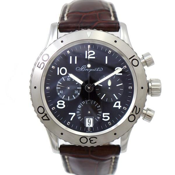 new style 312a3 637d3 ブレゲ 腕時計 タイプXX トランスアトランティック 3820STH29W6 Breguet メンズ SS×レザー ブラック文字盤 オートマ 時計    :5002113884403304:メルキャスト - 通販 - Yahoo!ショッピング