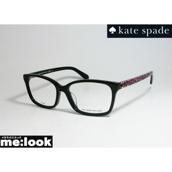 kate spade ケイトスペード レディース クラシック ボストン 眼鏡 メガネ フレーム MIRIAM/G-807 サイズ52 度付可 ブラック