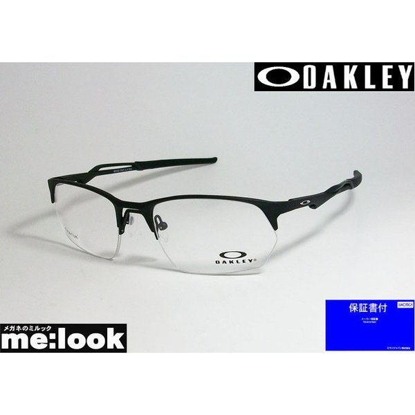 OAKLEY オークリー OX5152-0154 眼鏡 メガネ フレーム WIRE TAP 2.0 ワイヤータップ2.0 度付可 サテンブラック