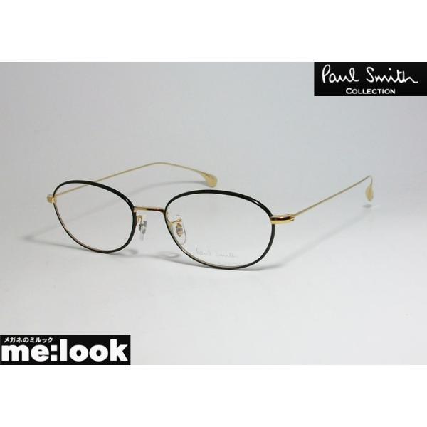 PAUL SMITH ポールスミス ボストン クラシック 眼鏡 メガネ フレーム PSE1009-GOX-50 度付可 ゴールド ブラック